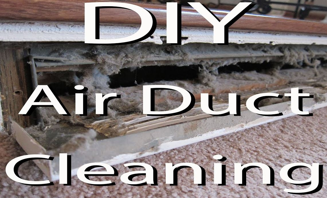 diy air duct cleaning