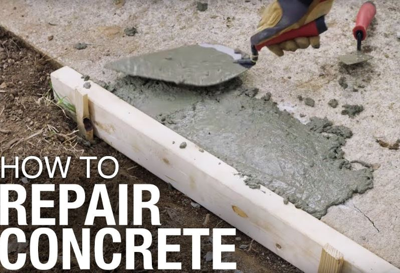 concrete repair tips